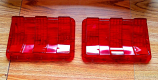 1967-68 Ford Mustang Tail Light Lens RH and LH NEW One Pair