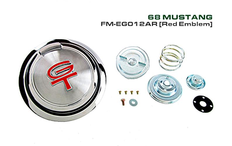 1968 Ford Mustang GT Pop-Open Fuel Gas Cap