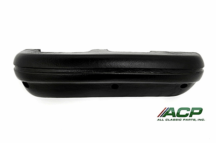 1969-70 Ford Mustang  Black Arm Rest Pad RH Right Hand Side