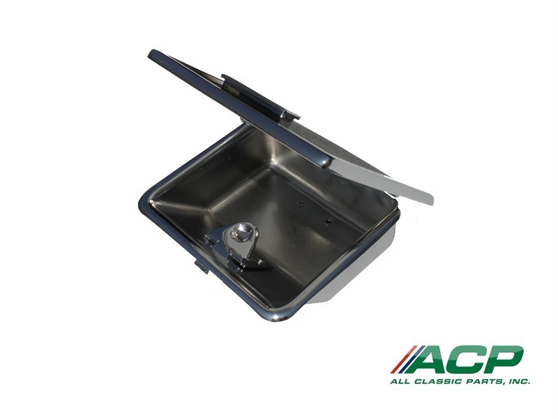 1965-66 Ford Mustang Interior Console Ash Tray Assembly New Ashtray With Lid