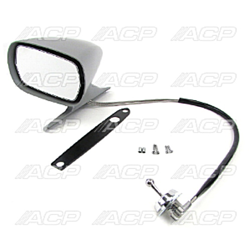 1969-70 Ford Mustang Exterior Racing Mirror Remote Left Side