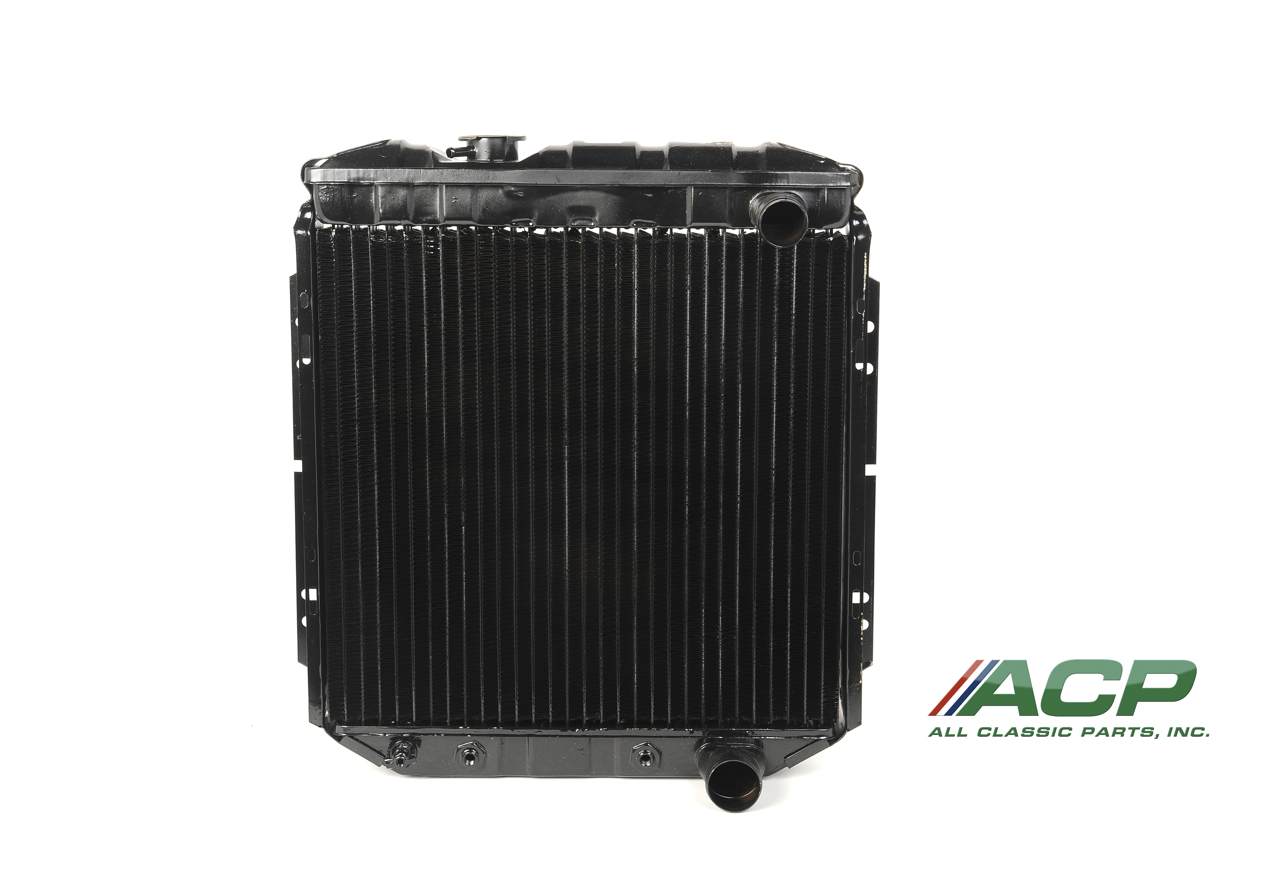 1965-1966 Ford Mustang V8 260-289 Radiator 3 Row Large Tube O/E Style NEW