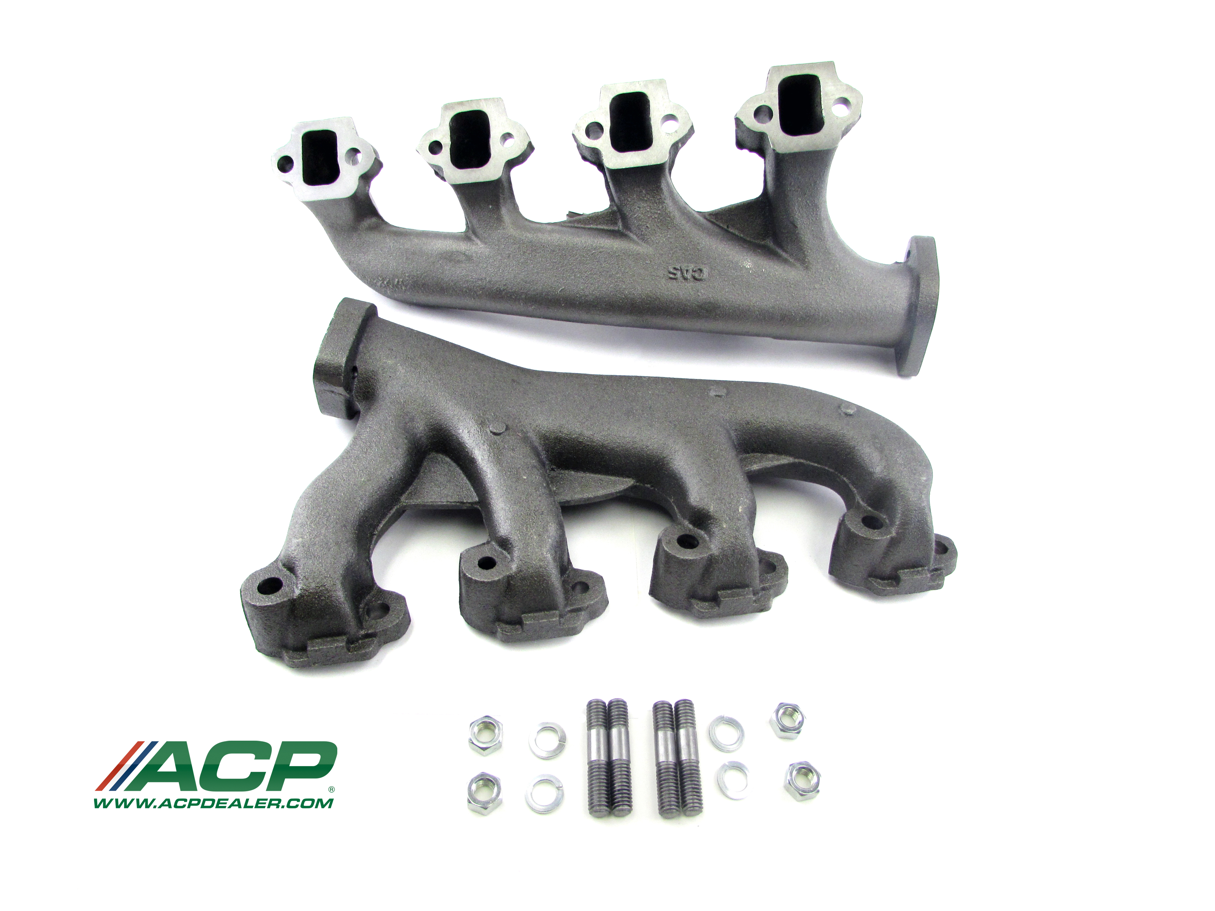 1965-67 Ford Mustang 289 HiPo Exhaust Manifolds  High Quality Reproduction Manifolds