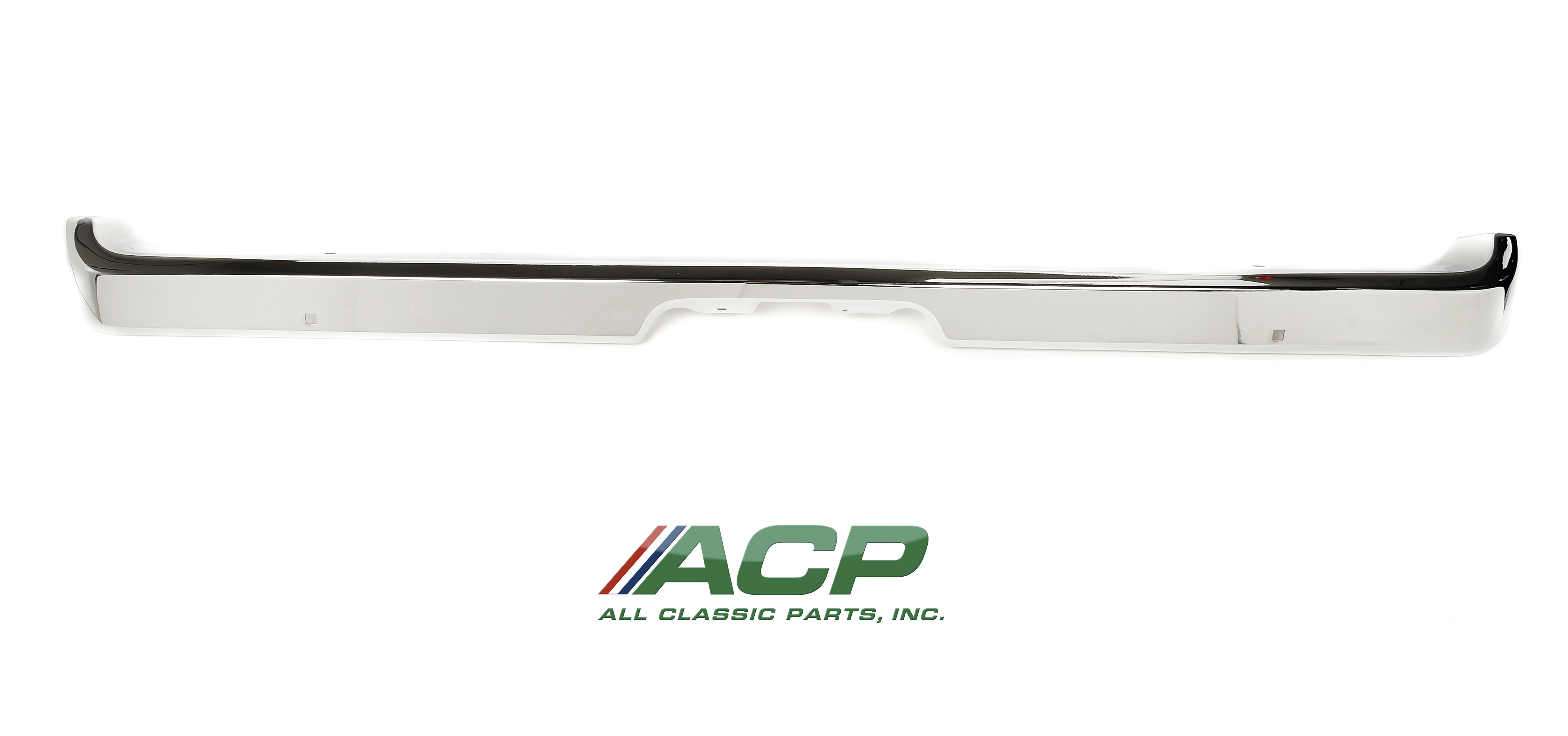 1971-73 Ford Mustang Rear Bumper High Quality Reproduction Show Quality Chrome