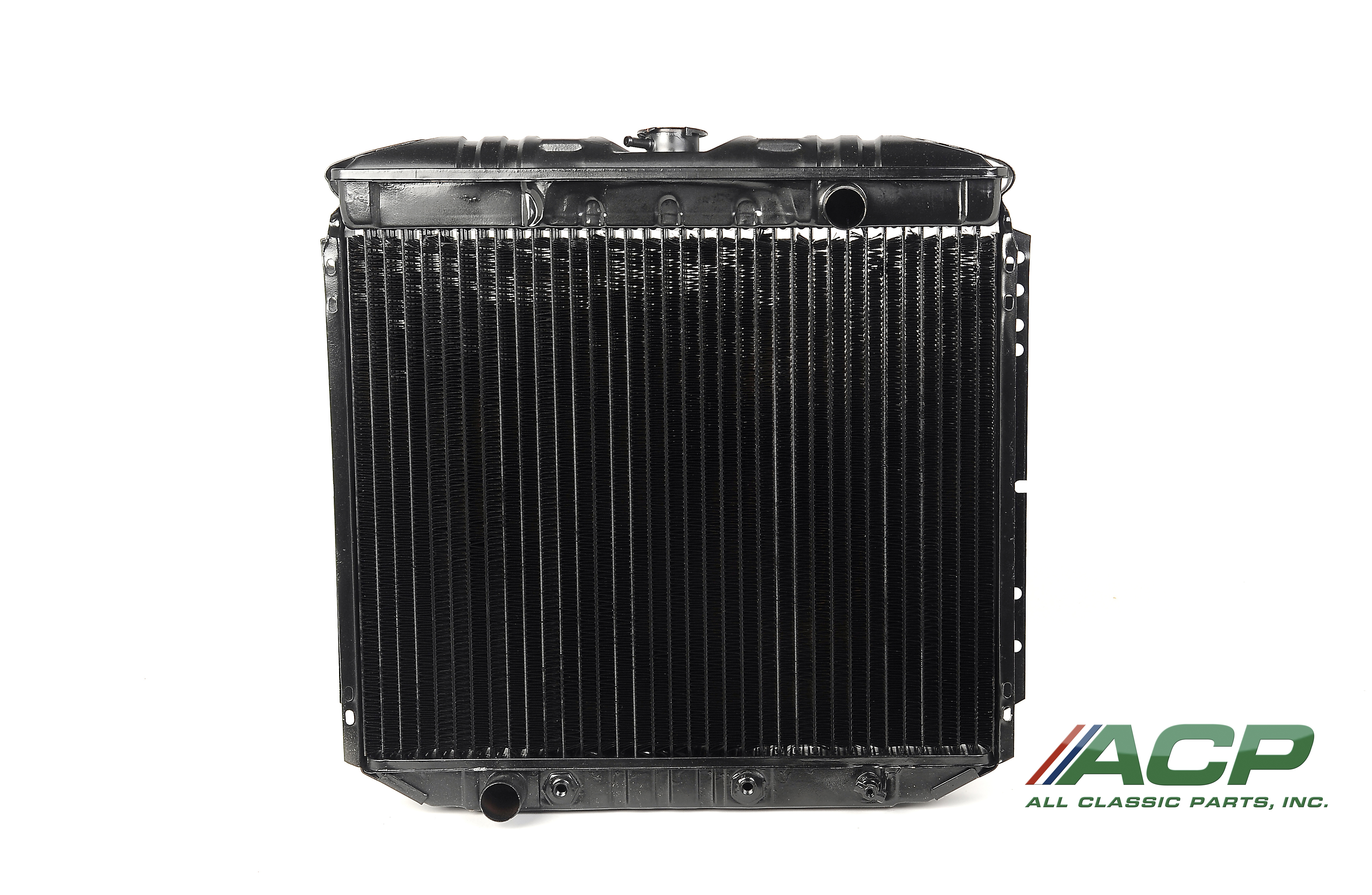 1967-1970 Ford Mustang 6 Cylinder Radiator 3 Row Large Tube O/E Style NEW NO AC