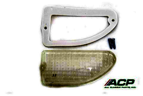 1969-70 Ford Mustang Parking Light Lens One Pair Right and Left Side BOTH Items One Price