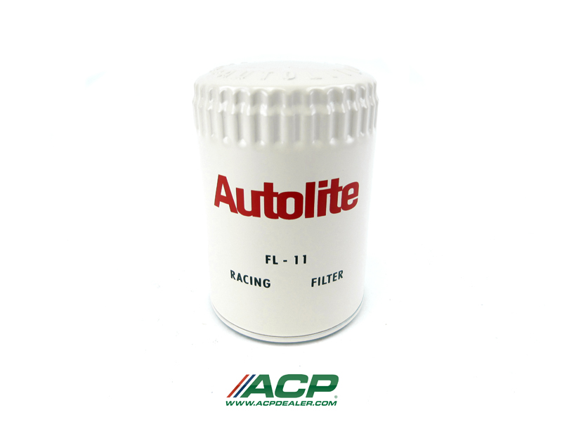 1967-73 Ford Mustang Autolite FL-11 Racing White Reproduction Oil Filter