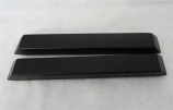 1965-66 Ford Mustang Arm Rest Pad Set New Black