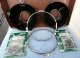 1965-66 Ford Mustang Headlight Rings, Buckets, and Assembly Hardware Kit
