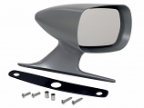 1970-71 Ford Torino Outside Racing Mirror RH Side With Pad and Hardware