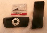1968 Ford Mustang Disc Brake, Accelerator Pedal Pad Kit