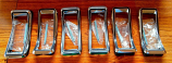 1968 Ford Mustang Tail Light Bezel Kit New All 6 Needed for One Car