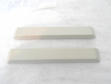 1965-66 Ford Mustang Arm Rest Pad Set New White
