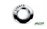 1965-66 Ford Mustang Headlight Switch Bezel NEW