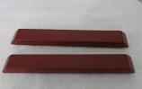 1966 Ford Mustang Arm Rest Pad Set New Red